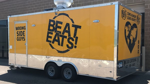 Food Truck Lettering and Logo